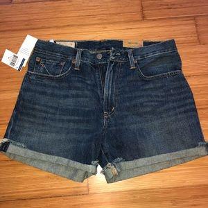 NEW polo jean shorts